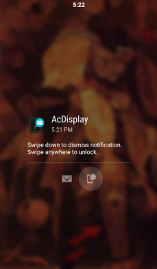 Android Notification App for Accessing Notifications through Screen Lock